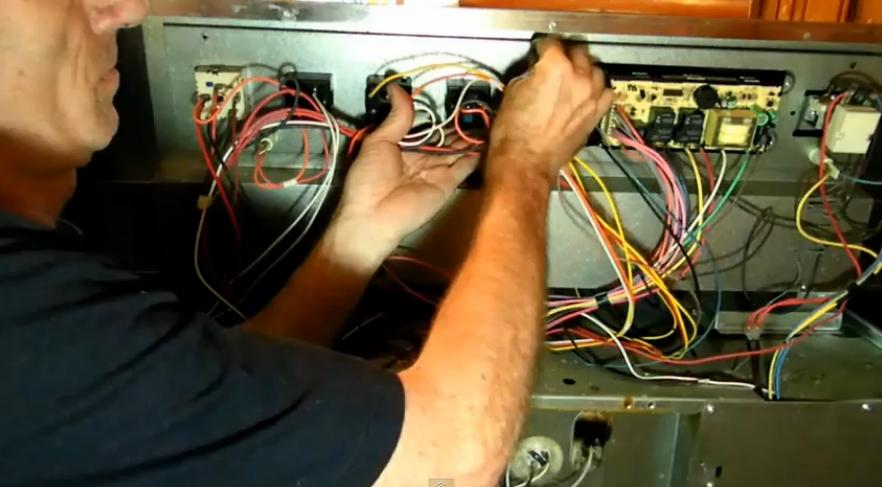 Ремонт своими руками электрических плит
